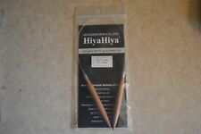 "HiyaHiya BAMBOO Circular Knitting Needles 16"" size 13 (9mm)"