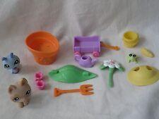 LPS Littlest Pet Shop Garden Get Together Set #1446 #1447