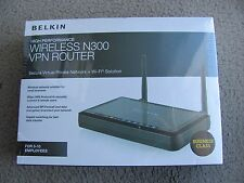 Brand New Belkin F9K1004 High Performance Wireless N300 VPN Router