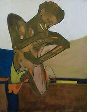 Pierre Courtens  huile sur toile l'École de Puteaux