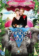 PRINCE AND ME PART 4 DVD ROYAL ADVENTURES IN PARADISE 4th Movie Film New UK