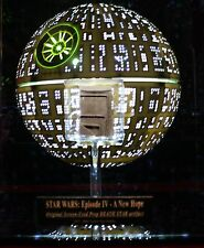Prop DEATH STAR, George Lucas STAR WARS, COA London Prop Store, DVD Lighted CASE
