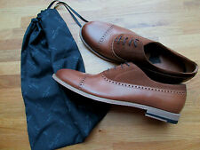 "Paul Smith Oxford shoes with suede trims ""PS"" UK9 EU43 Tan leather LASZLO"