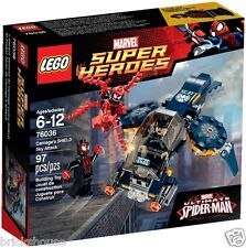 New Sealed Lego SuperHeroes 76036 Carnage's Shield Sky Attack (Bricks House)