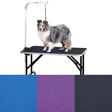 Master Equipment TP215-48-79 Groom Table w/48In Arm 48x24In - Purple
