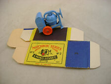 MATCHBOX MOKO LESNEY #3A-1 CEMENT MIXER WITH ORIGINAL BOX