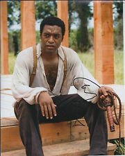 Chiwetel EJIOFOR SIGNED Autograph 10x8 Photo AFTAL COA 12 Twelve Years a Slave
