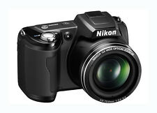 "Nikon COOLPIX L105 12.1 MP Digital Camera 15x Zoom 3"" LCD 720p HD Movie"