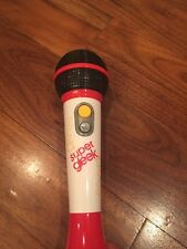 Super Gleek GLEE pass the mic electronic toy microphone sing along freestyle