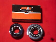 Vintage Style French Threaded 35x1 Bottom Bracket Cup Set. NOS