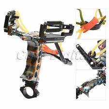 Judge G3 Powerful Camouflage Stainless Steel Hunting Slingshot with Arrow Rest