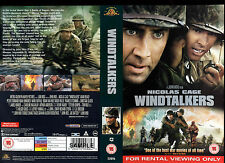 Windtalkers- Nicholas Cage - Video Promo Sample Sleeve/Cover # 14404