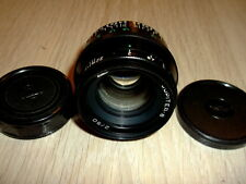 JUPITER-8 50mm f2 black Lens M39 Zorki FED Leica 35mm RF camera KMZ 50/2 sonnar