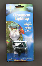 Ornament Light-Up Illuminate Your Christmas Ornaments LED Superbright Spotlamp