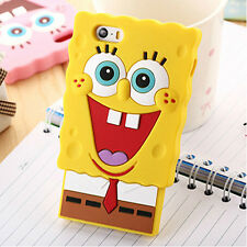 iPhone 6 6S 3D Silicone Funny Cute Cartoon Back Cover Case