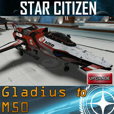 Star Citizen Gladius to M50 UPGRADE