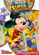 Mickey Mouse Clubhouse: Super Adventure (DVD, 2013, With Card Set)