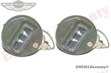 2 BLACKOUT CAT EYE LIGHT WWII WILLYS MB FORD GPW G503 12V BULB @ ECspares