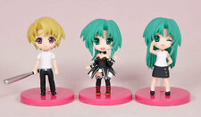 Higurashi no Naku Koro ni When They Cry Mion Shion Satoshi Mini Figure set New