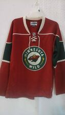 Reebok Women's Premier NHL Jersey Minnesota Wild Team Red sz XL