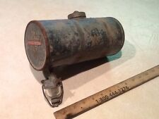 VINTAGE CLINTON ROUND MINIBIKE OR SMALL ENGINE GAS TANK, WITH GLASS SEPERATOR