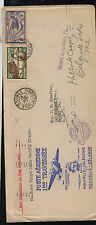 New Caledonia 143, C4 on cachet first flight cover 1940  New Zealand    KL1213