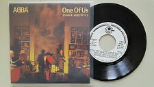 Abba - One of us 7'' Single SPAIN PROMO