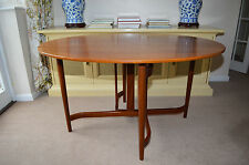 GREAVES & THOMAS 1960s TEAK DINING TABLE mid century retro danish g plan heals