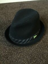 New Era Monster Edition Limited Edition Fedora Rolled Brim Hat Cap Men's Black