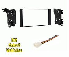 Double Din Car Stereo Radio Dash Trim Kit Combo for some 2014-15 Outlander Sport