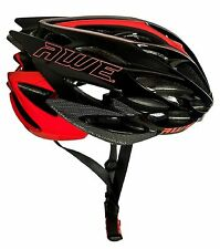 AWE®AWESpeed™ InMould Mens Road Cycling Helmet 56-58cm Black/Red/Carbon