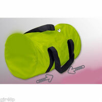 Bright Green Zip Up Holdall / Duffle Bag Gym Work Travel School Swimming Camping