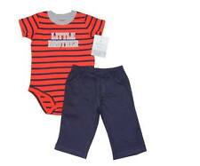 "Carter's 2-pc Bodysuit & Pants Set, ""Little Brother"" (GBC-178), Size: 12 months"