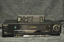 Sony SLV-M11HF VHS VCR Player Recorder Tested and Working