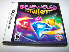 Bejeweled Twist Nintendo DS Lite DSi XL 3DS 2DS w/Case & Manual