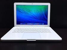 13 inch Apple MacBook Unibody Mac Laptop OSX 2015 *One Year Warranty* 500GB
