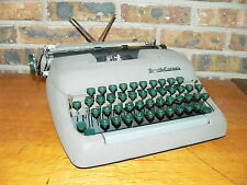 Vintage Smith-Corona Sterling Manual Portable Typewriter w/Case~See Details