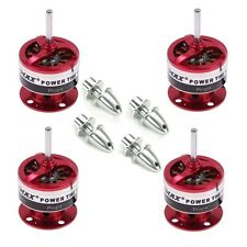 4x EMAX CF2822 1200KV Brushless Motor w/ Props Adapter for Multirotor Quadcopter
