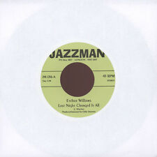 "Esther Williams / Tommie Young - Last Night Changed I (Vinyl 7"" - UK - Original)"