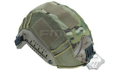 Multicam Airsoft Military Paintball Tactical Combat Helmet Cover for Fast Helmet