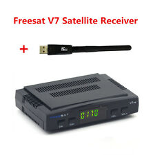 Freesat V7 Satellite TV Receiver DVB-S2 HD Support PowerVu Cccamd Youtube + WIFI
