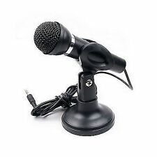 Premium High Quality Stand Mic Microphone For Computer Laptop3.5MM STEREO AUX