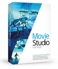 Sony Vegas Movie Studio HD Platinum 13 Pro Video Editing Creating Software