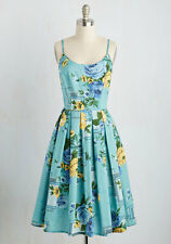 Modcloth Cape May I take a Message dress NWOTD Sz XL floral Lazybones