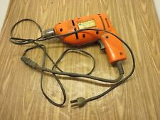 1/4 ELECTRIC DRILL - Double Insulated - WORKS - NEEDS NEW CORD - K-MART Brand