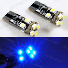 2 x Ultra Blue LED Parking Eyelid Light Bulbs Error Free 8-SMD