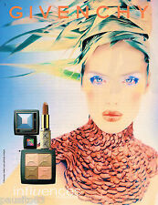 PUBLICITE ADVERTISING 065  1998  GIVENCHY   maquillage  INFLUENCES