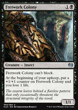 MTG 4x FRETWORK COLONY - COLONIA DI INTAGLIATORI - KLD - MAGIC