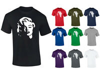 Mens Marilyn Monroe Face Hollywood Movie Icon T-shirt S-XXL