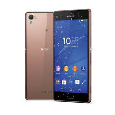"Sony Xperia Z3 Gold D6603 16GB (FACTORY UNLOCKED) 20.7MP, 5.2"" Smartphone AU"